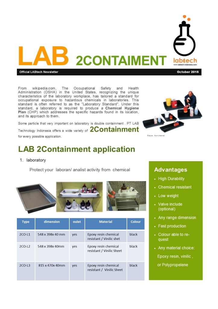 LAB 2contaiment  -