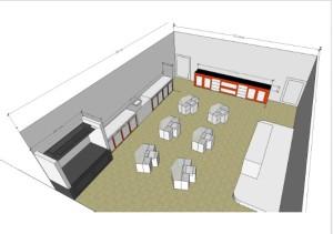 design Layout Laboratorium