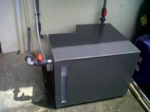 Scrubber bagian bawah-unit BLH Padang