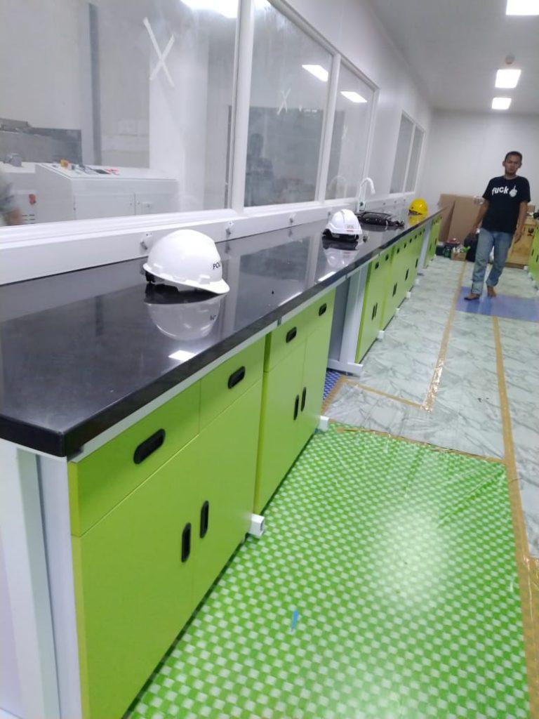 meja laboratorium dijual