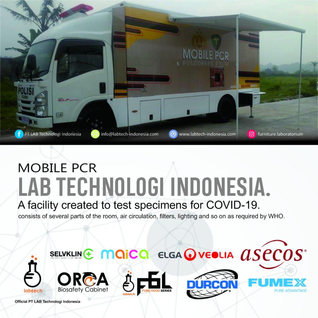 Laboratorium Tes PCR Mobile